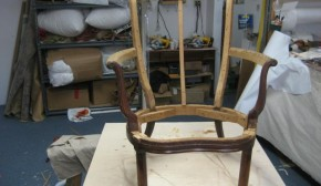 Frame of reconstruced chair
